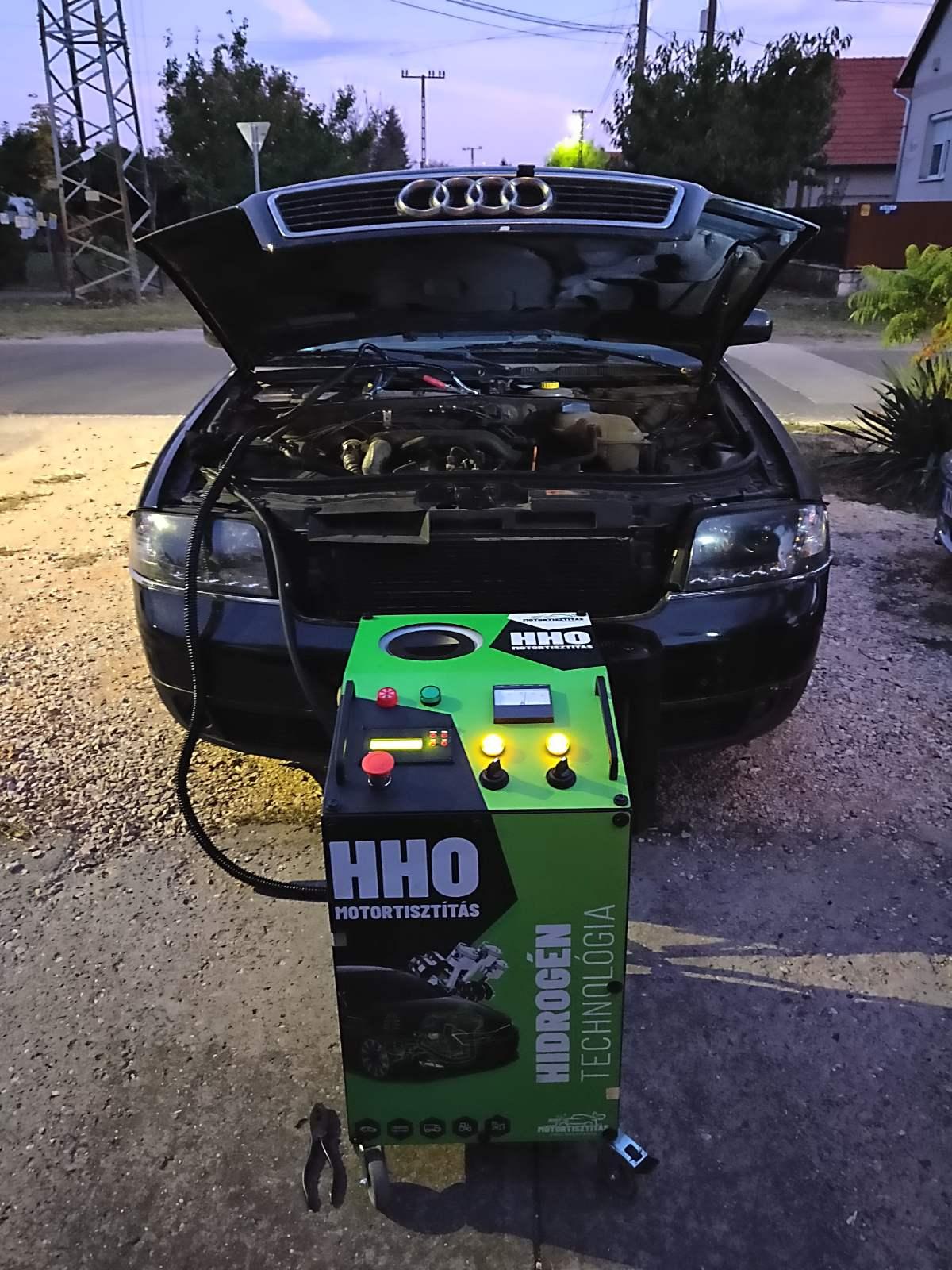 HHO Motortisztítás Audi A6 V6 Tdi 233 Le
