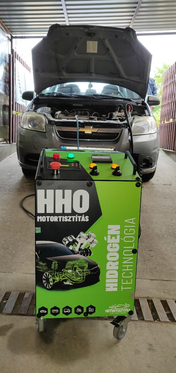HHO Motortisztítás Chevrolet Aveo 1.4i 16V 94Le Cegléd