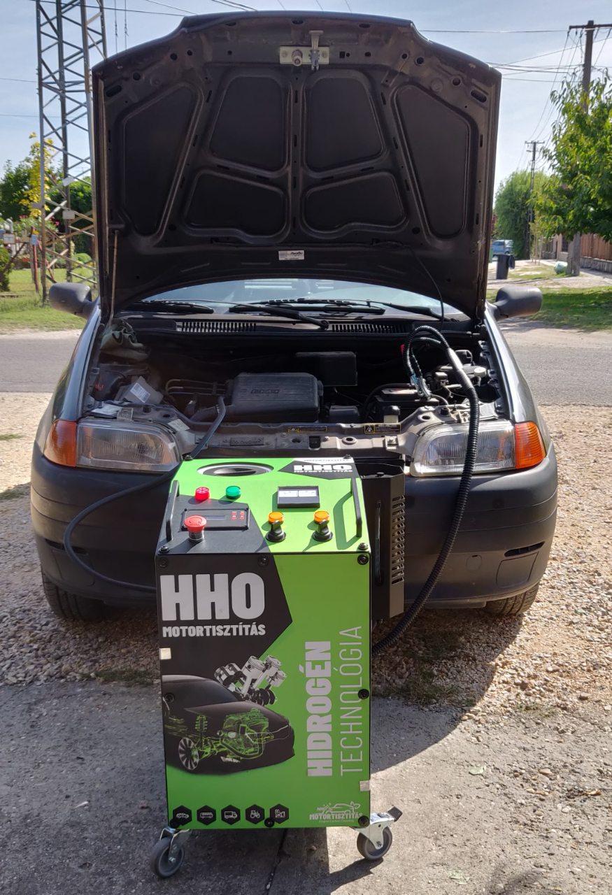 HHO Motortisztítás Fiat punto 1.1i 55Le