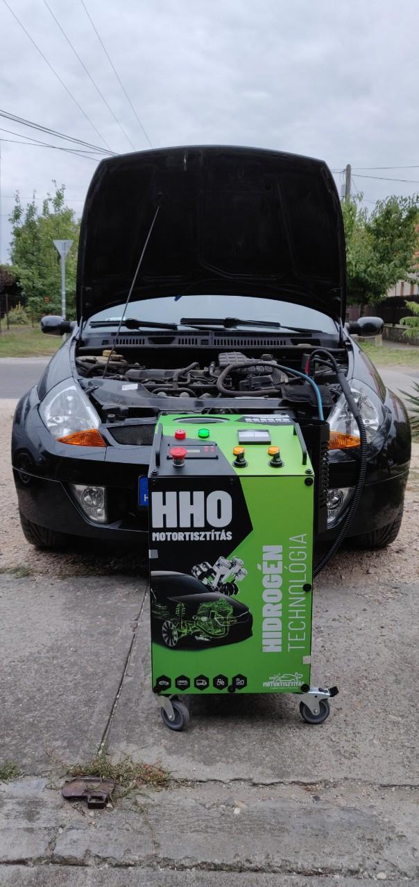 HHO Motortisztítás Ford Ka SprotKa 1.6i 95Le Cegléd