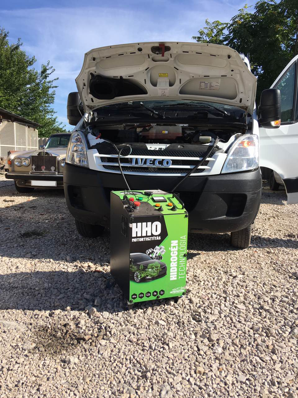 HHO Motortisztítás Iveco Daily 2.3 Diesel 71 Kw 2009
