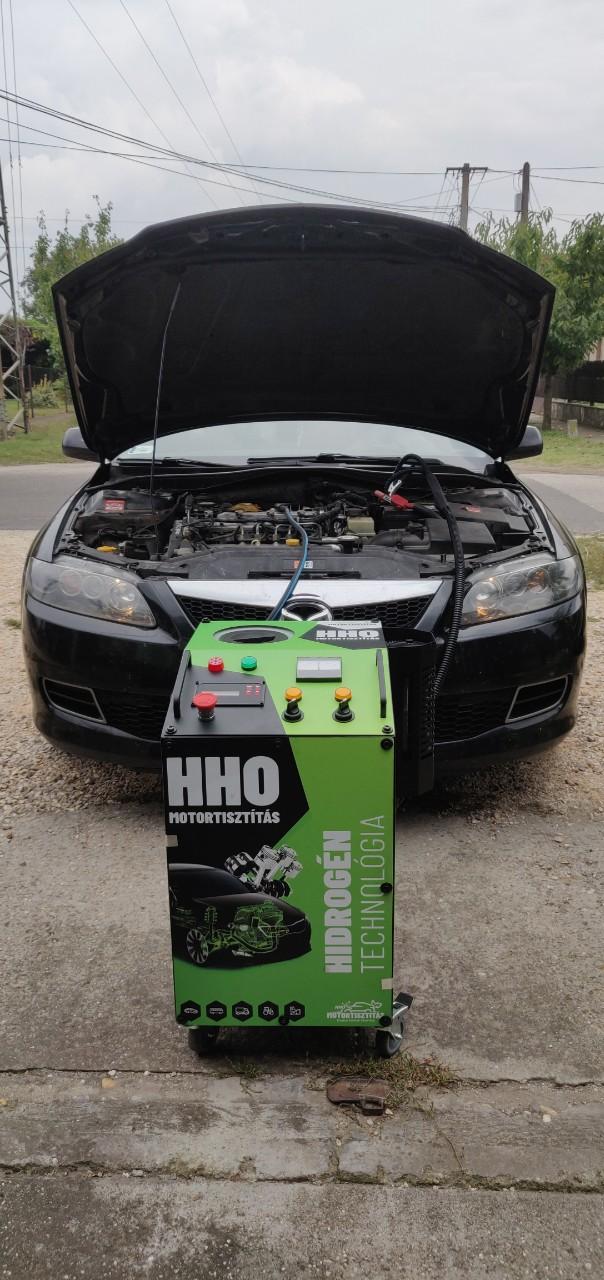 HHO Motortisztítás Mazda 6 2.0d 121Le Cegléd