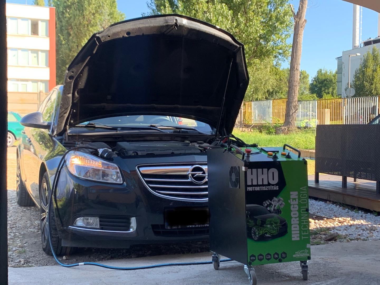 HHO Motortisztítás Opel Insignia 2.0CDTi