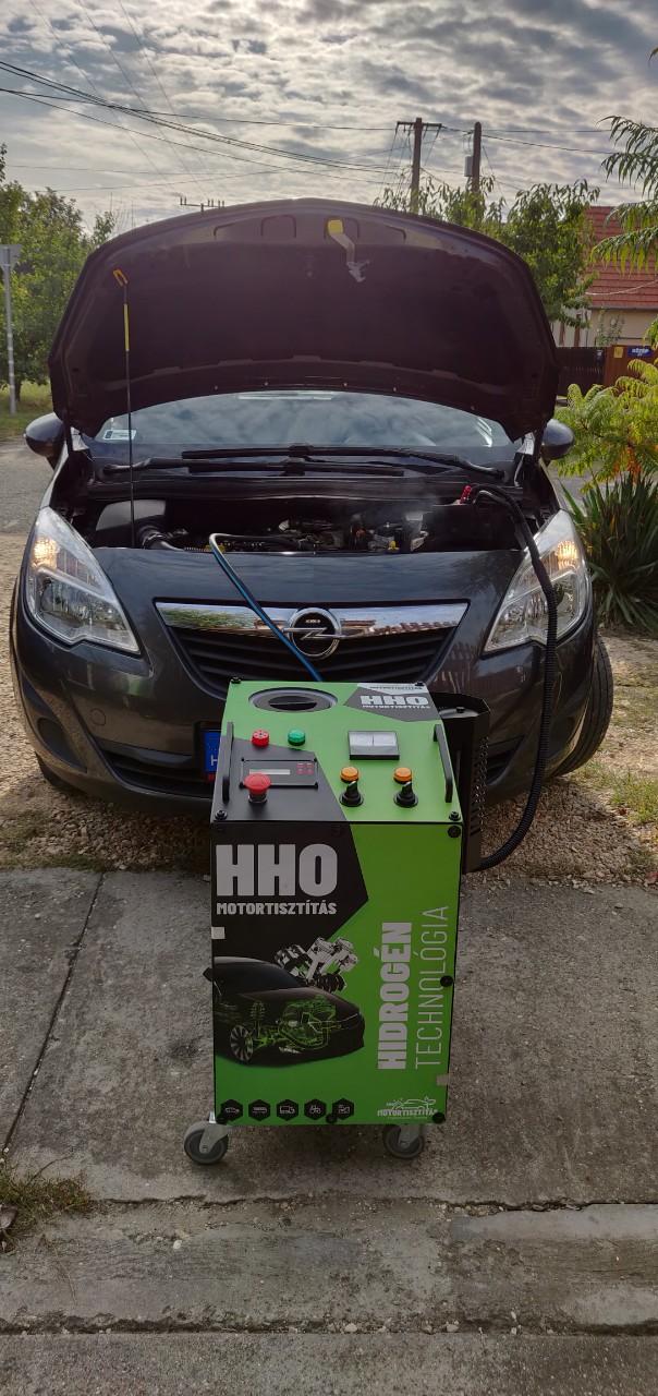HHO Motortisztítás Opel Meriva 1.7 Cdti 110Le Cegléd