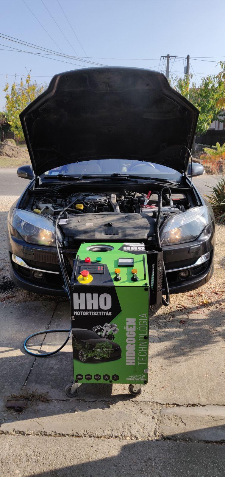 HHO Motortisztítás Renault Laguna 3 2.0 Dci 175 Lóerő
