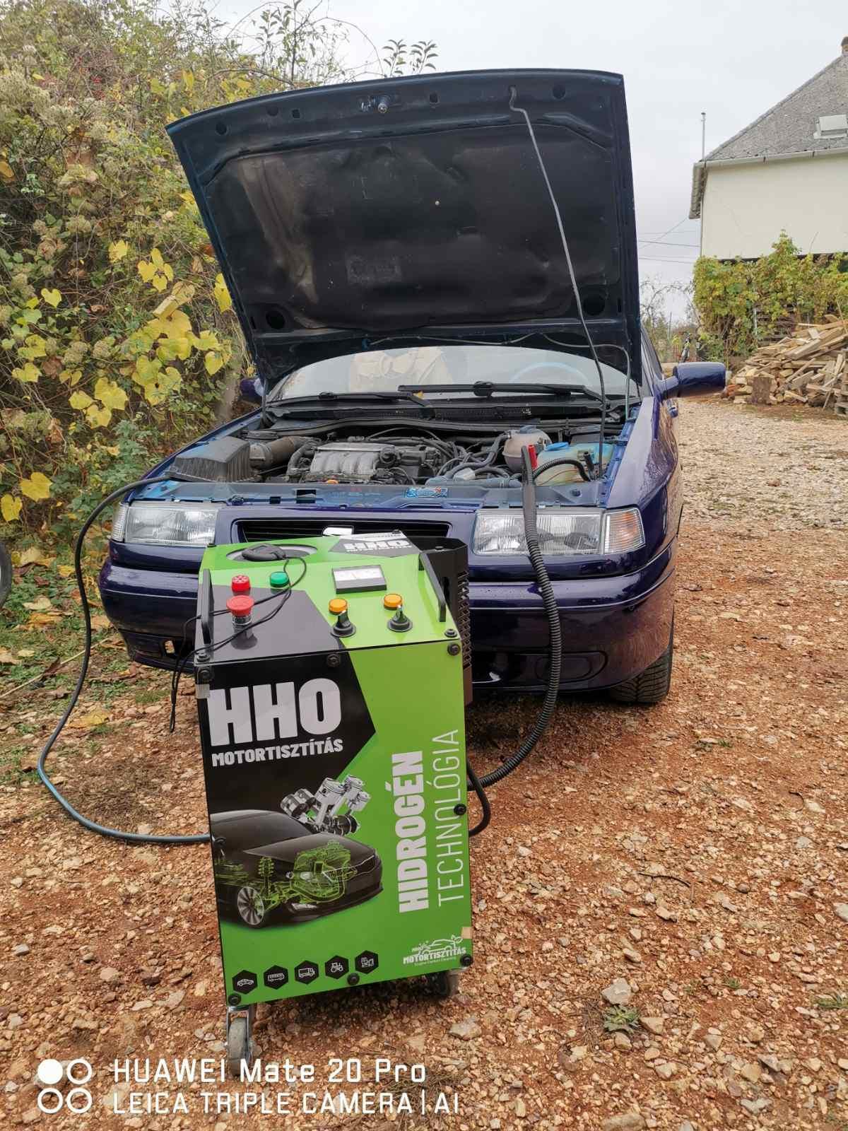 HHO Motortisztítás Seat Toledo 1.6 Benzin 1998 évjárat Tata