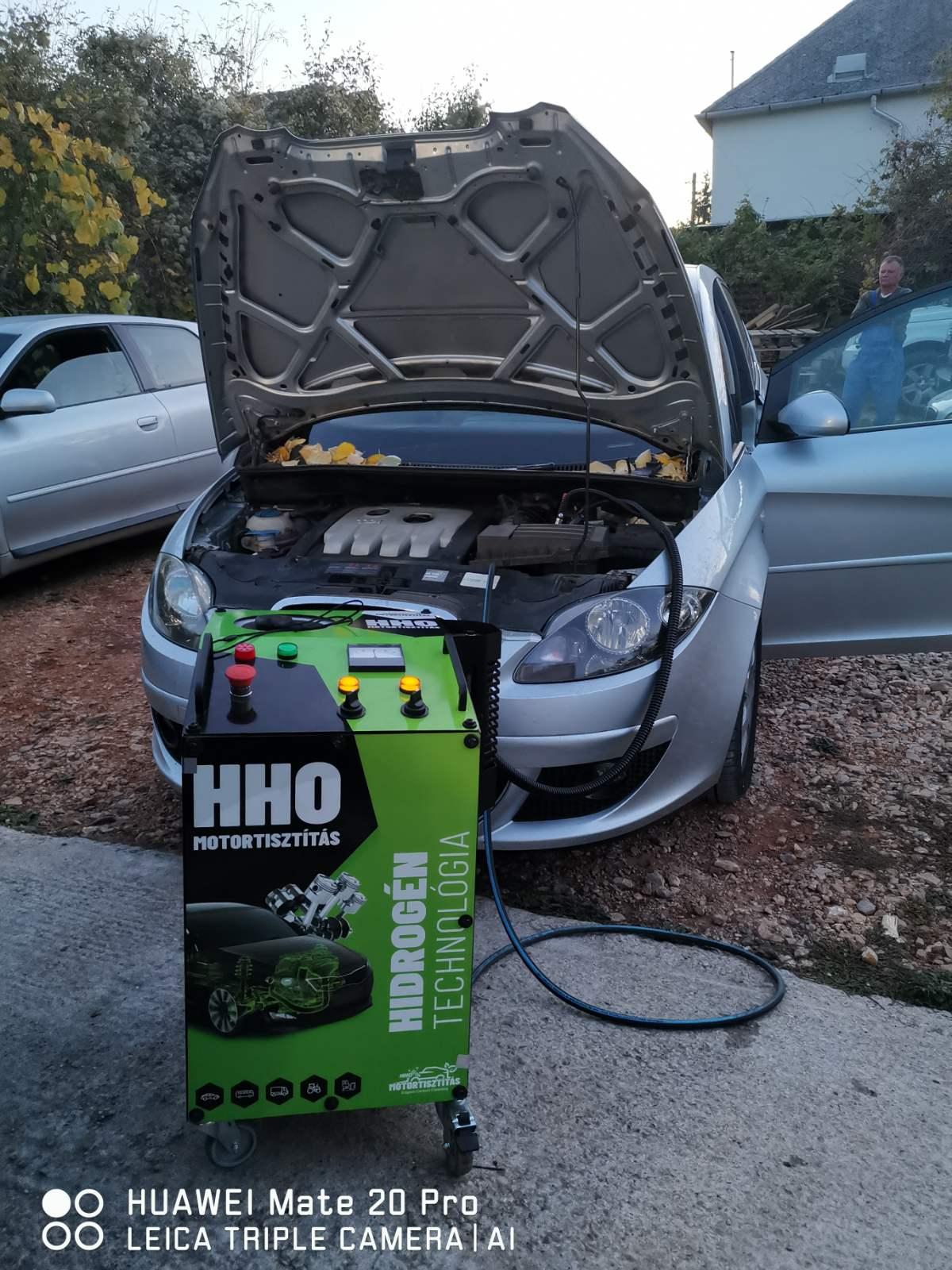 HHO Motortisztítás Seat Toledo 2.0 Pdtdi Tata