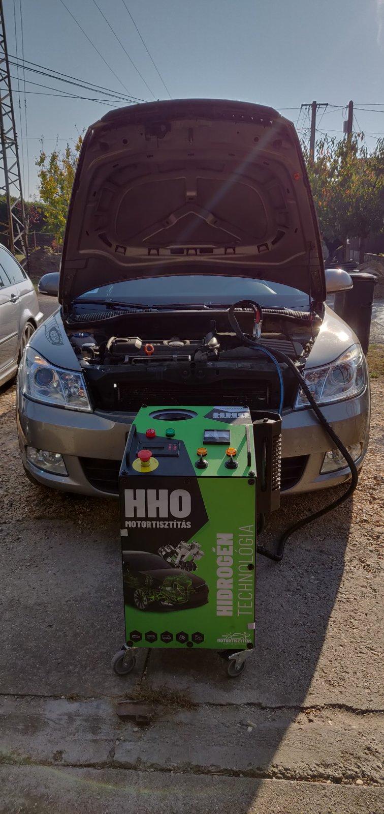 HHO Motortisztítás Skoda Octavia 1.4 Tsi 122 Le Cegléd