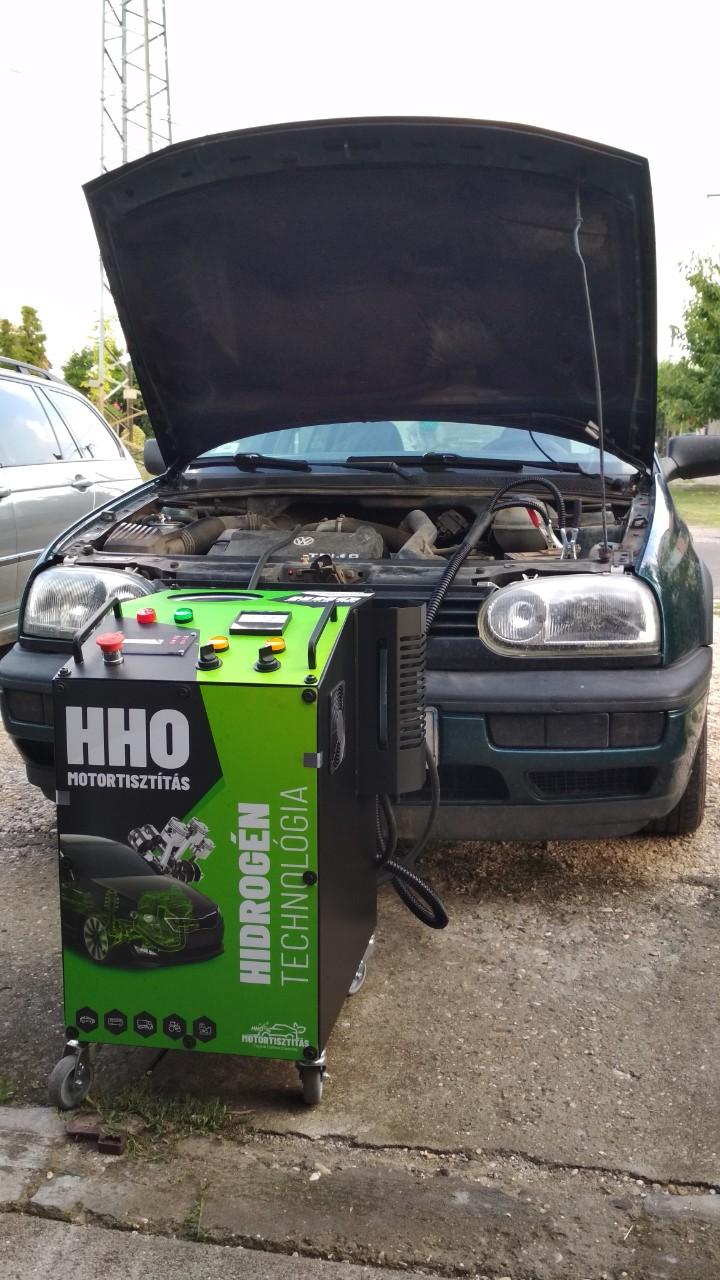 HHO Motortisztítás VW Golf III 1.9 Tdi 90Le