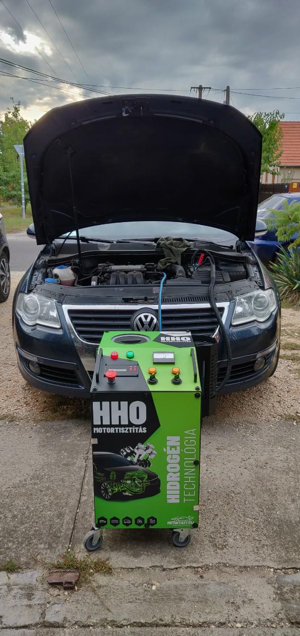HHO Motortisztítás VW Passat 1.6i 102Le Cegléd