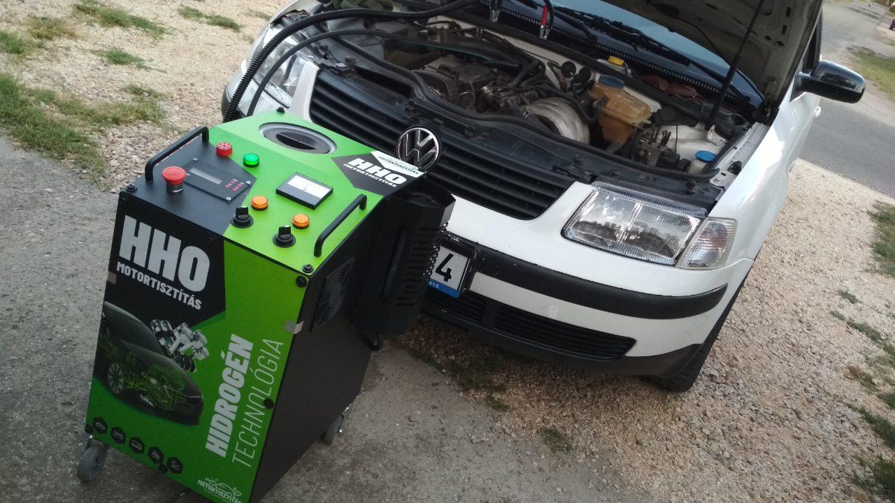 HHO Motortisztítás VW Passat 1.6i 8V 102