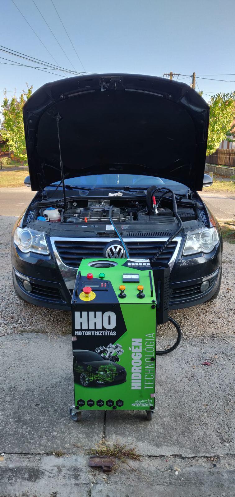 HHO Motortisztítás VW Passat 1.9 PDTdi 105Le Cegléd