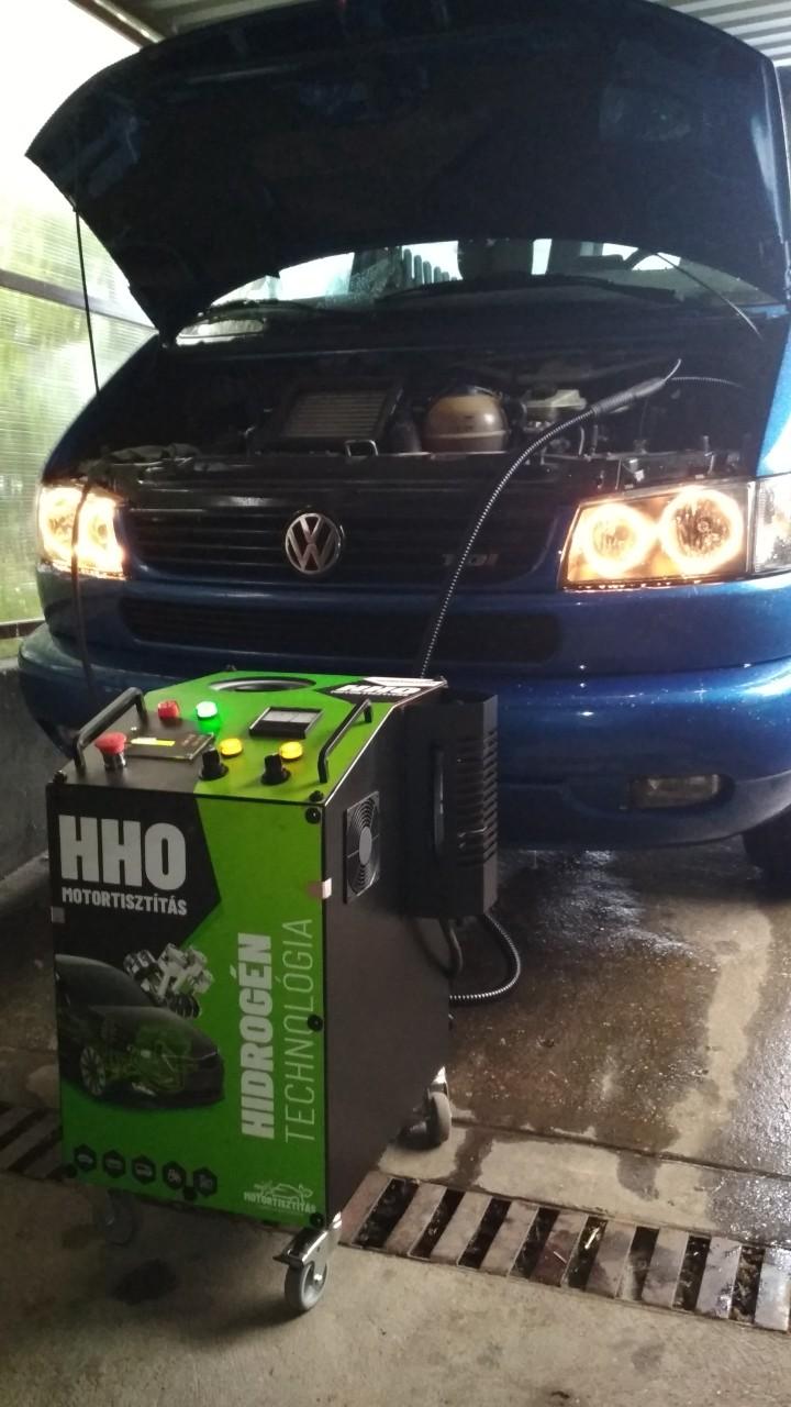 HHO Motortisztítás VW T4 2.5Tdi 102Le