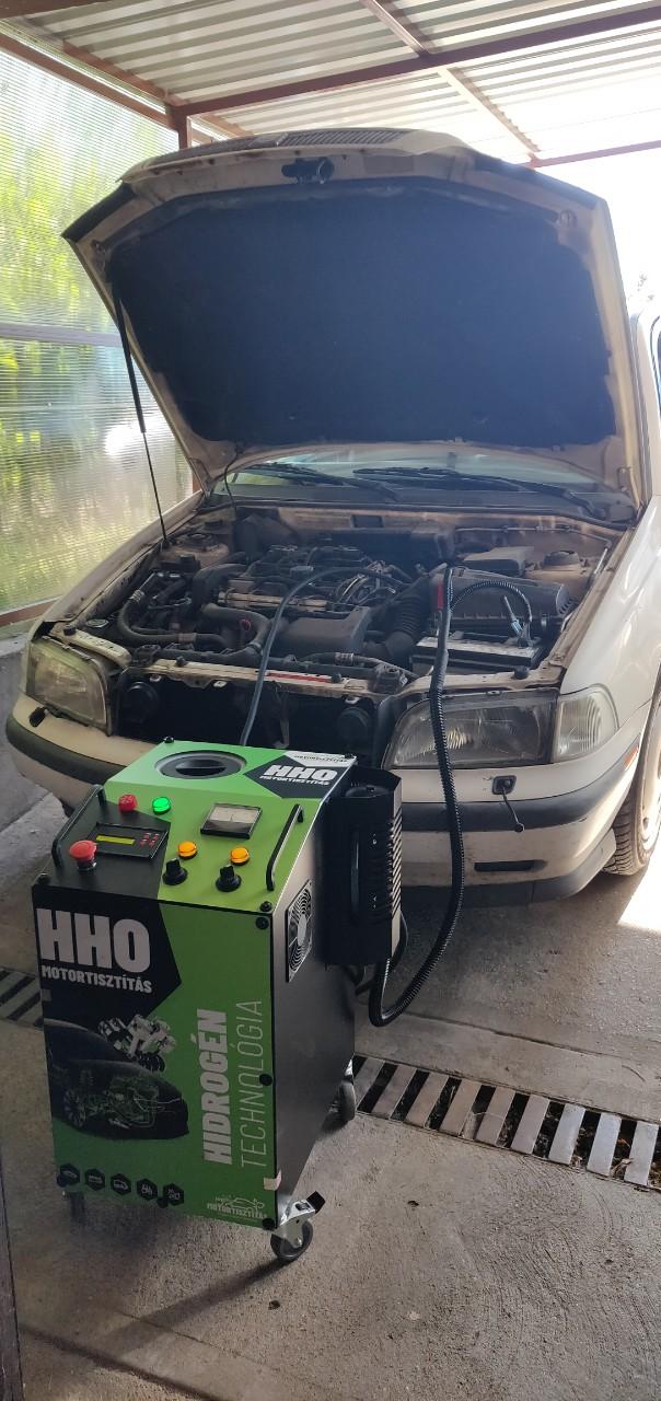 HHO Motortisztítás Volvo S40 1.6i 105 Le