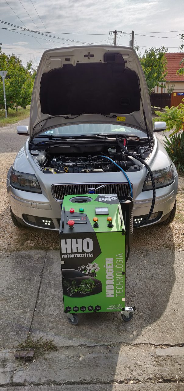 HHO Motortisztítás Volvo V50 1.8i 125 Le